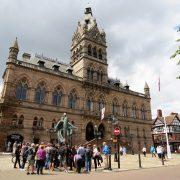 Hund und Herrlich_Grossbritannien_England_Chester_Town Hall