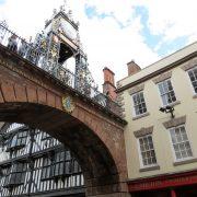 Hund und Herrlich_Grossbritannien_England_Chester_Eastgate Clock